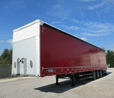 Schmitz Cargobull firana standard, oś podnoszona