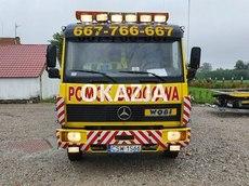 Mercedes 817L Pomoc Drogowa Holownik do przewozu samochodów 4.3